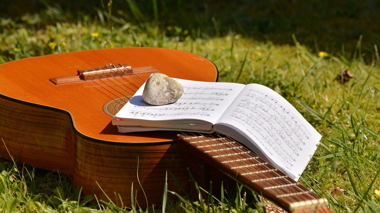 gitara a akordy