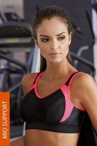 2e5403d17bc81 Športová podprsenka pre aktívne ženy - buďte sexi aj vo fitku! - GETY