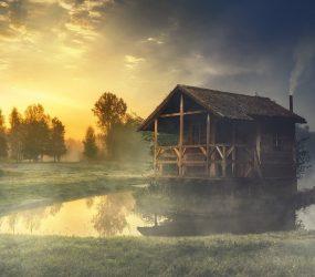 Odľahlá chata vprírode – čo by vnej nemalo chýbať?