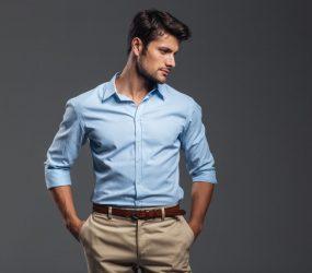 Pánska košeľa by vám mala perfektne sedieť