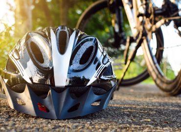 Sila ochranných prostriedkov počas jazdy bicyklom