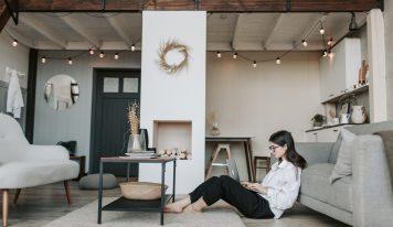 Moderné prepojenie obývačky s kuchyňou